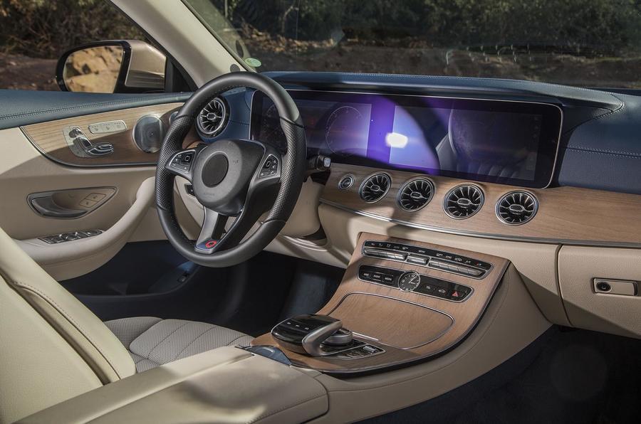 Mercedes E class cabriolet